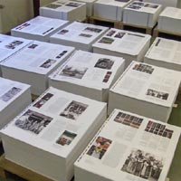 Legacy in cloth at the printers